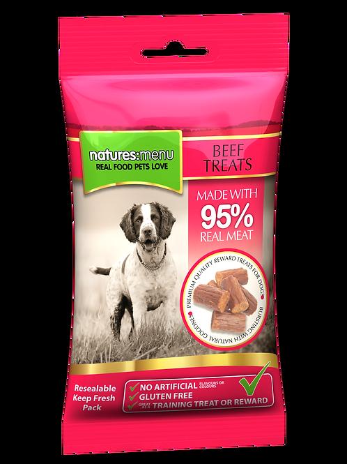 Nature Menu Dog Treats with Beef 85g