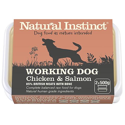 Natural Instinct Working Dog Salmon