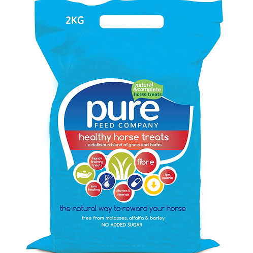 Pure Feed Pure Treats Horse Treats - 2kg