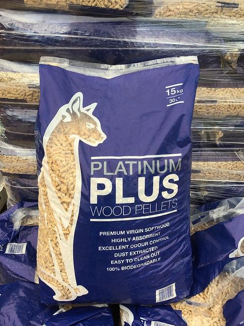 Platinum Plus wood pellets 15kg