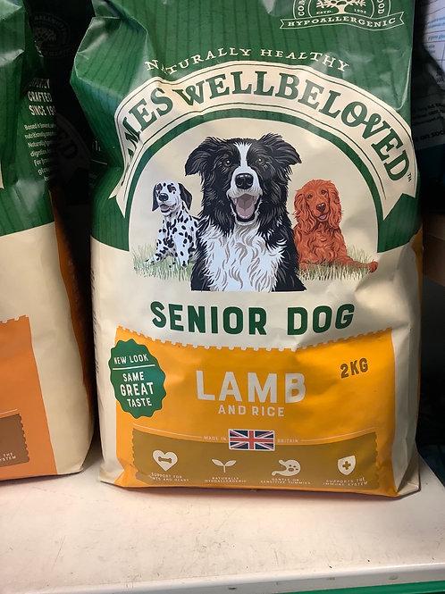 James wellbeloved senior lamb & rice 2kg