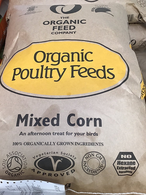 Allen & Page Organic mixed poultry corn 20kg
