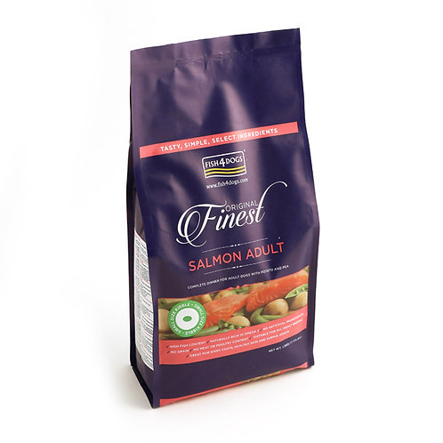 Fish4Dogs Finest Adult Salmon Complete Food Small Bite 2kg