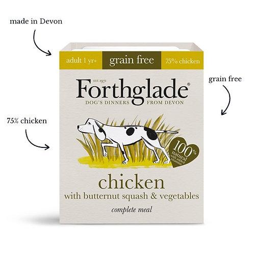 Forthglade chicken & vegetables dog food (395g) (Box of 18)