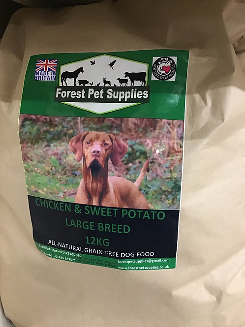 Forest Chicken and Sweet Potato Large Breed 12kg
