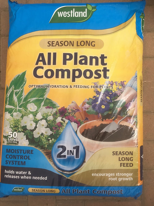 Westland Season Long All Plant Compost 50 Litres