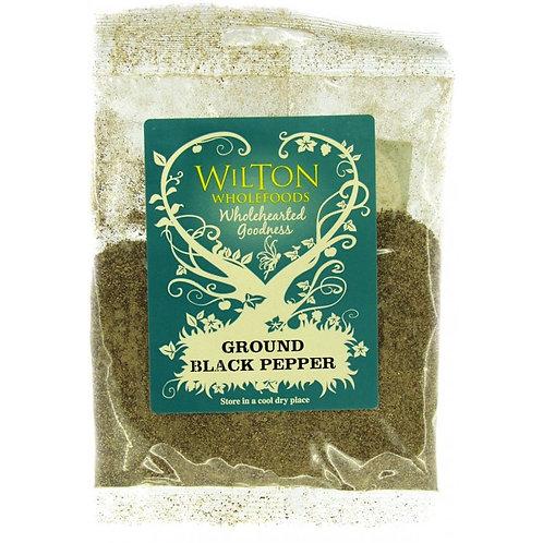 Wilton Wholefoods Ground Black Pepper 30g
