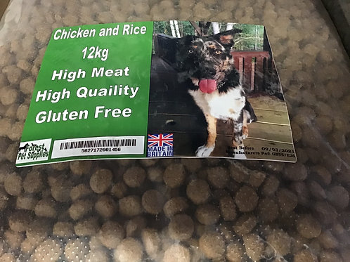Forest Chicken and Rice 12kg