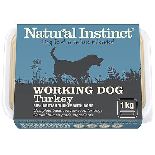 Natural Instinct Working Dog Turkey