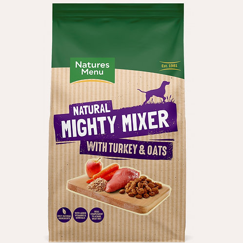 Natures Menu Mighty Mixer Turkey and Oats