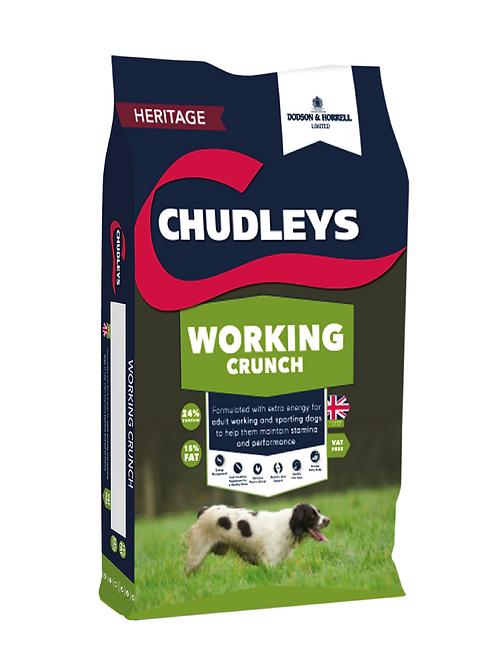 Chudleys Working Crunch - 15kg