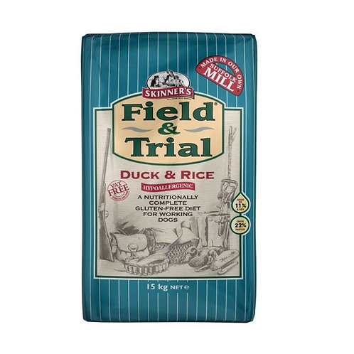 Skinners Field and Trial Duck and Rice 15kg