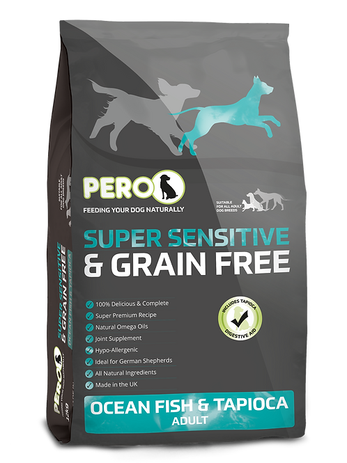 Pero Super Sensitive & Grain Free Ocean Fish & Tapioca 2KG