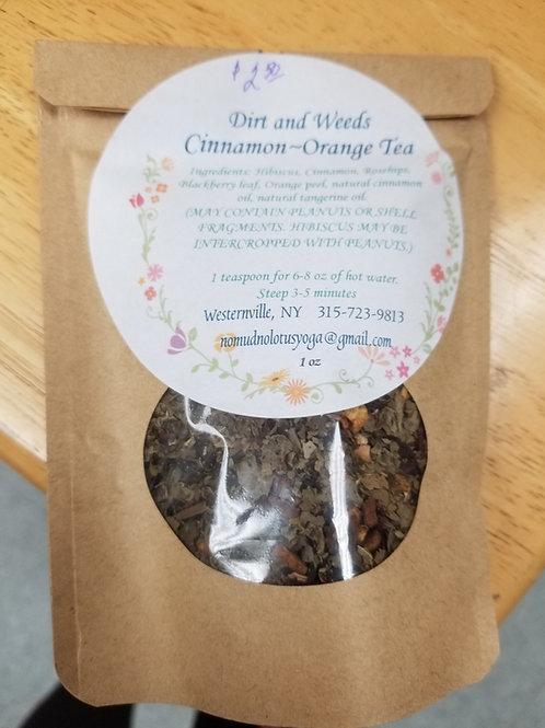 Cinnamon-Orange Tea Blend