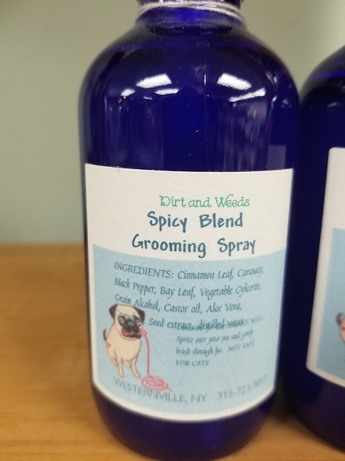 Spicy Blend Grooming Spray