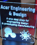 AED - laser etching
