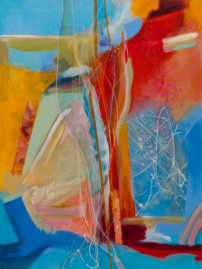 Blue Rondo, centre panel