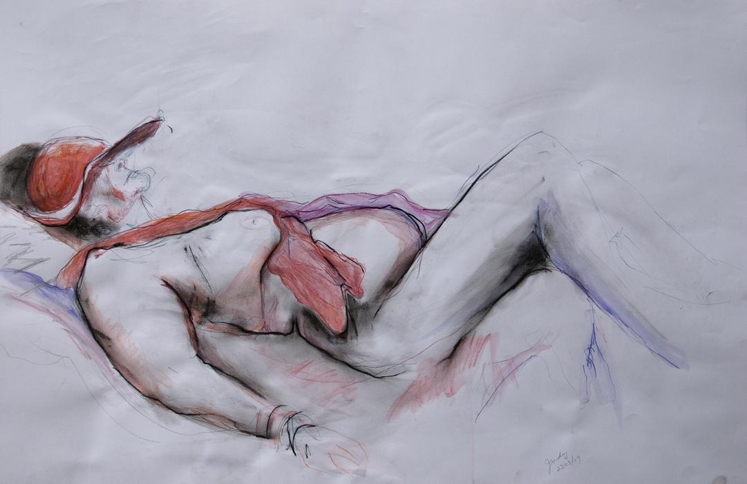 Judy Resting