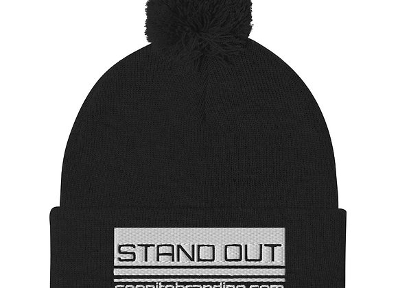 Stand Out Pom-Pom Beanie