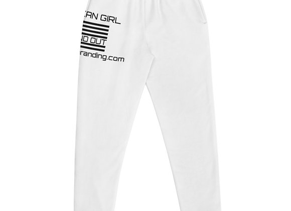 Women's Stand Out Joggers White