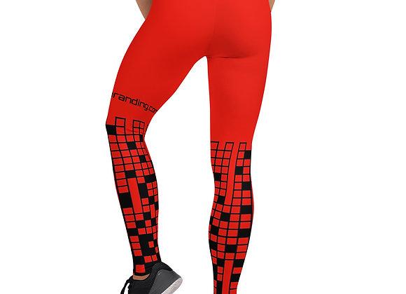 DF Leggings Blk Red