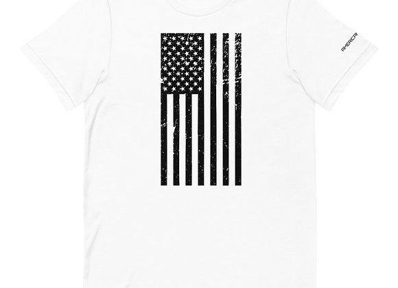 Vertical Flag White