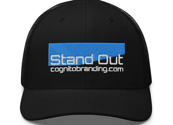 Angled Stand Out Trucker