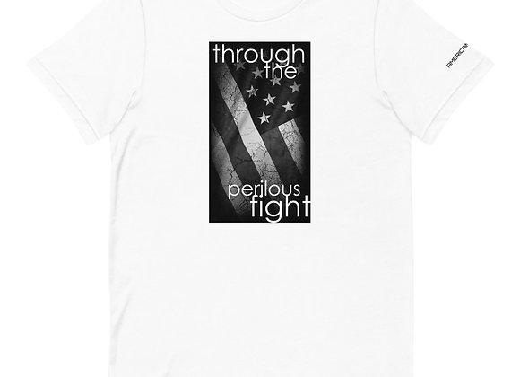 Through the perilous fight white