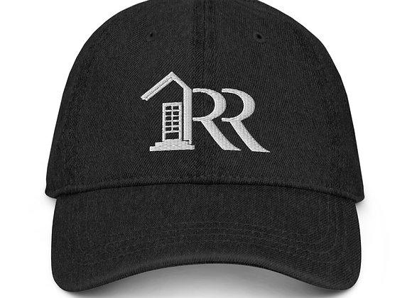 Denim Buckle Back Hat