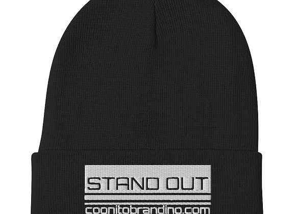 Blk Stand Out Beanie