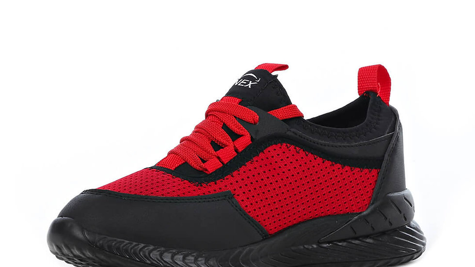 Nex 001-1 Roller Anorak Chaussures De Sport 4-Pack - Rouge Noir