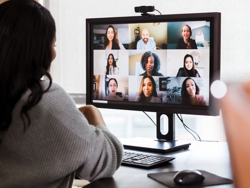 Fight virtual meeting fatigue with a blast of positivity