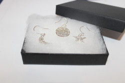 Moon and star mix and match earring set