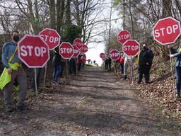 STOP-Aktion – Ein Aufsteller!