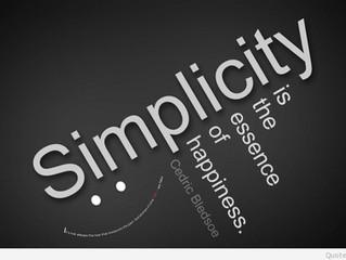 사순절: 단순하게 살아보기