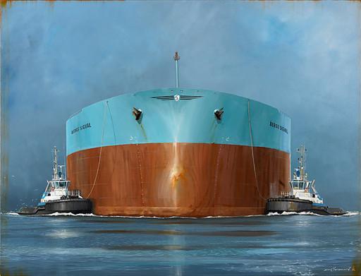 Les jumelles de Rotterdam 146x114cm