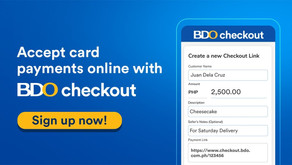 BDO Checkout: A New Payment Gateway