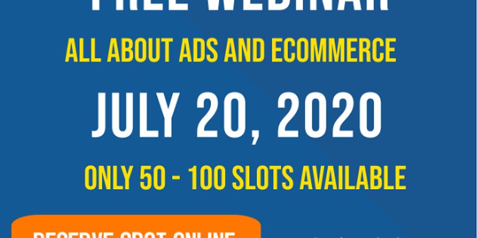 """Free Webinar """" eCom & Ads 2020"""""""