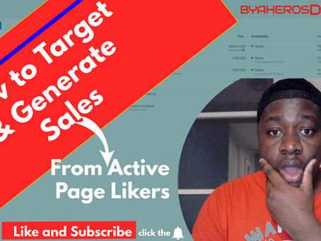 How To Target & Retarget FB Page Likers In 2021