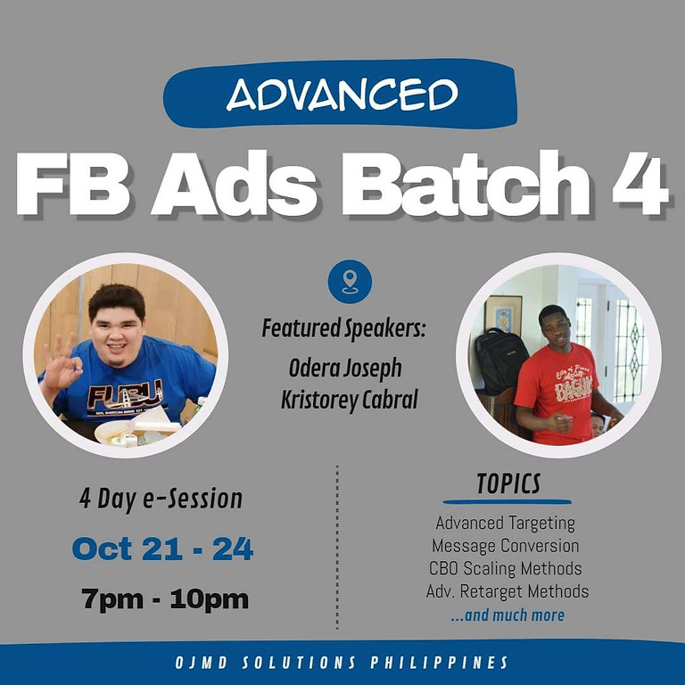 Online Advanced FB Ads