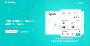Free Shopify Spy & Aliexpress Hunter