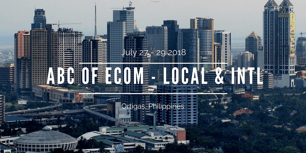 ABCs Of E commerce ( Local & Intl )