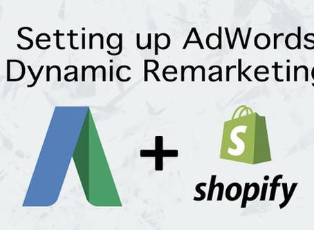Shopify Google Adwords Dynamic Remarketing Tag