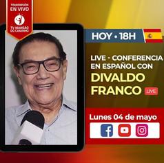 Divaldo Franco, su primera visita a España.