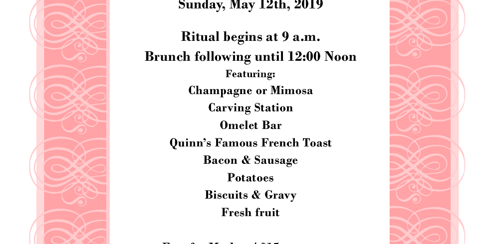 Mother's Day Ritual and Brunch
