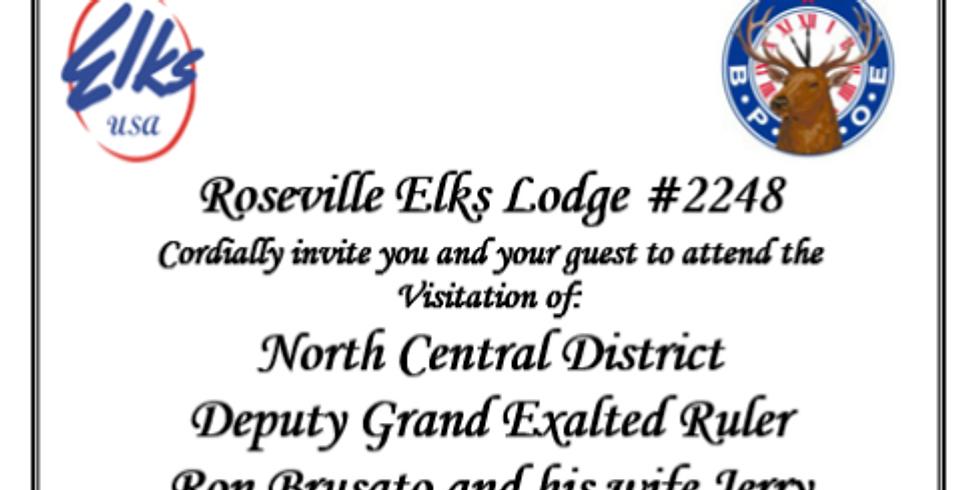District Deputy Grand Exalted Ruler Visitation