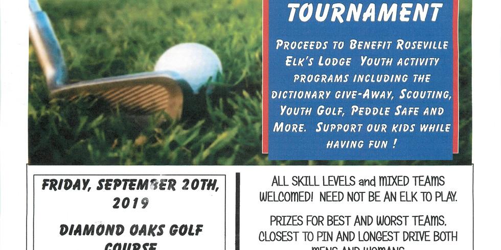 Roseville Elks Annual Golf Tournament