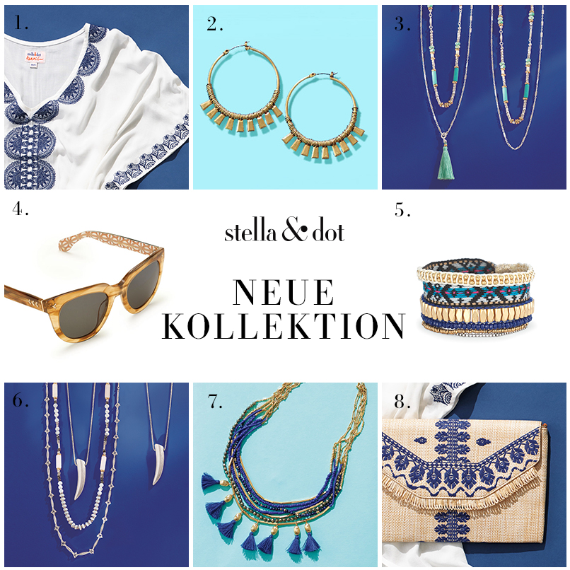 Sommerkollektion 2016 stella & dot