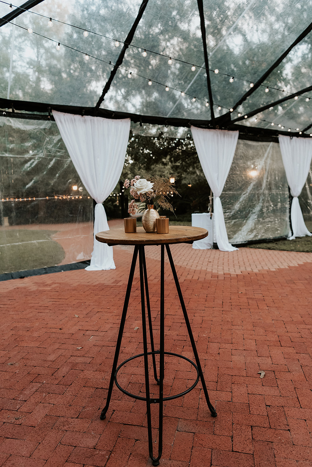 New Orleans' Tree of Life and Audubon Tea Room Wedding with Lovegood Wedding & Event Rentals with Pink Chuppah, Babybreath Floral Boa, and Many More Details  | Lovegood Wedding & Event Rentals, New Orleans Vintage Rental Company for Corporate, Parties, and Weddings | Lounge Furniture in NOLA, Specialty Rentals, Decor across the Southeast, fashion forward bride and groom with cocktail hour