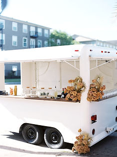 Lovegood Wedding & Event Rentals - New Orleans Furniture and Decor Company with our Gypsy Mobile Bar